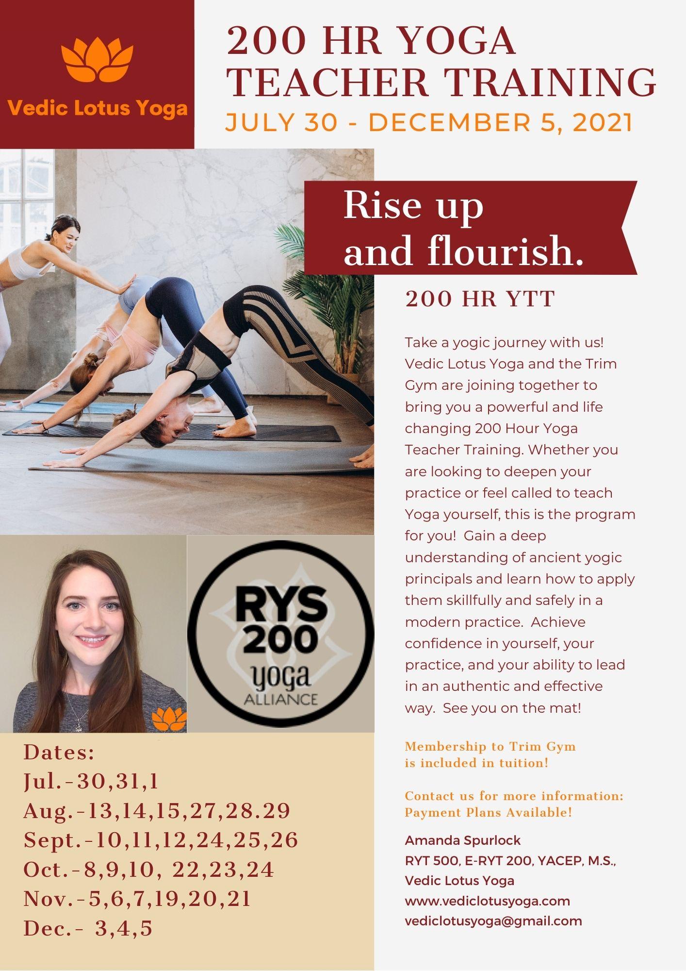 Yoga Teacher Training Jonesboro, Arkansas